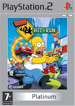 The Simpsons: Hit & Run [Platinum] for PlayStation 2