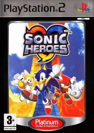 Sonic Heroes [Platinum] for PlayStation 2