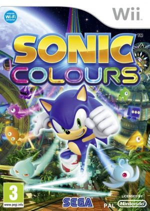 Sonic Colours for Wii
